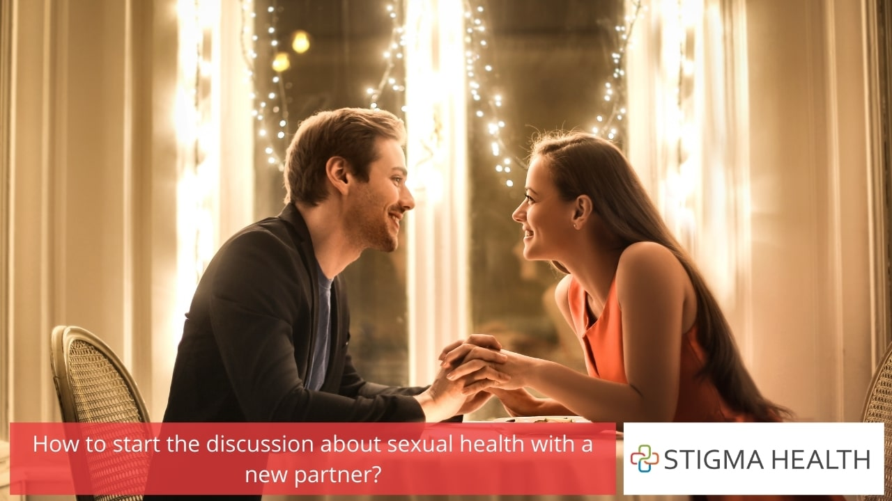 How to start the discussion about sexual health with a new partner