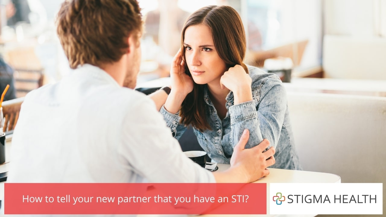 How to tell your new partner that you have an STI
