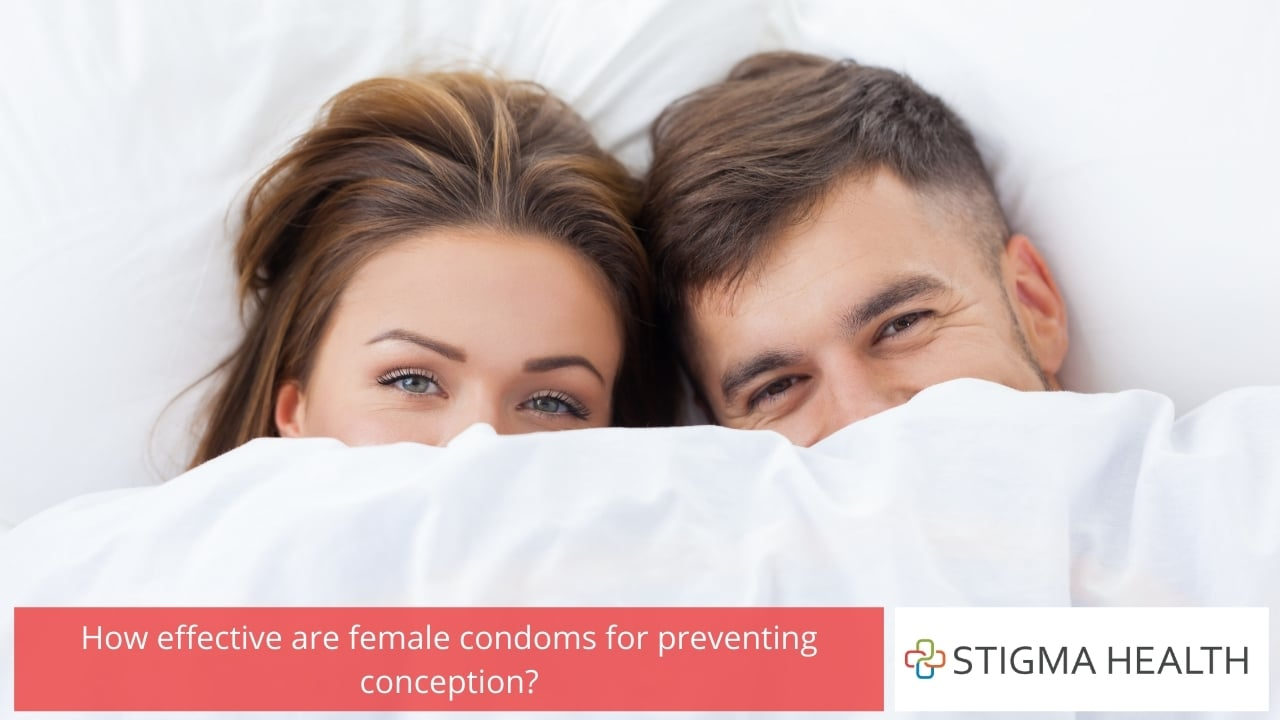 How effective are female condoms for preventing conception