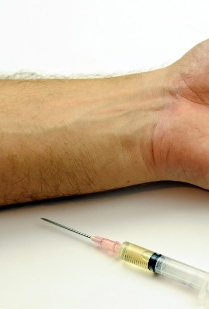 People injecting drugs have an increased risk of Hepatitis infection